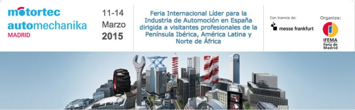 We will attend the fair Motortec automechanika Madrid 2015