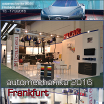 REFERENCE AUTOMECHANIKA FRANCOFORTE 2016